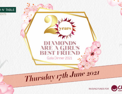 Diamonds Are A Girl's Best Friend Gala Dinner