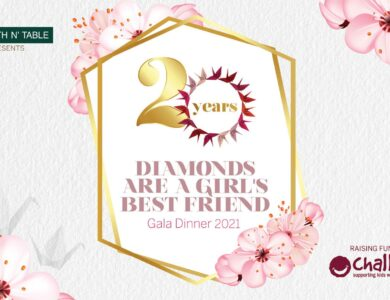 Diamonds Are A Girl's Best Friend Gala Dinner – SOLD OUT